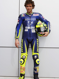 Gauloises Yamaha Team photoshoot: Valentino Rossi