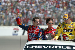 Drivers presentation: Jeff Gordon and Elliott Sadler