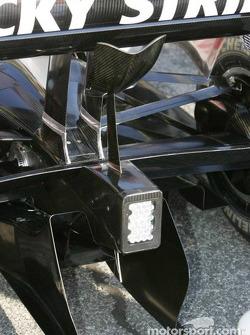 New wings on the BAR-Honda