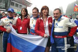 Nicolaj Fomenko, Alexei Vasiliev and Christophe Bouchut