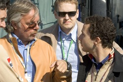 Keke Rosberg and Nicolas Todt