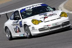 #88 TRG Porsche GT3 Cup: Steve Johnson, Kevin Buckler, Robert Nearn