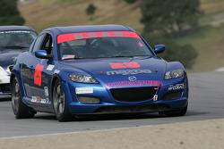 #25 HBAR Motorsports Mazda RX-8: Nick Gurucharri, Eric Molin