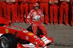 Ferrari photoshoot: Rubens Barrichello