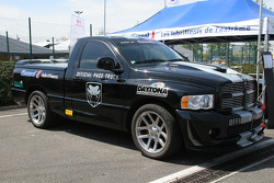 Daytona International Speedway official pace truck visits Magny-Cours
