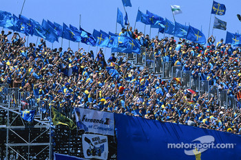 Fans of Fernando Alonso