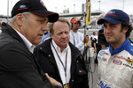 Michel Jourdain Jr. with Edsel Ford and Dan Davis