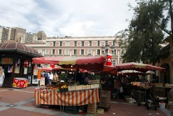Food market in Monaco