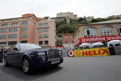 A Rolls-Royce at La Rascasse