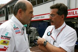 Peter Sauber and Dr Mario Theissen