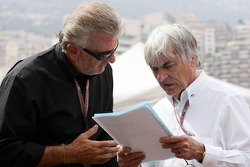 Willi Webber and Bernie Ecclestone