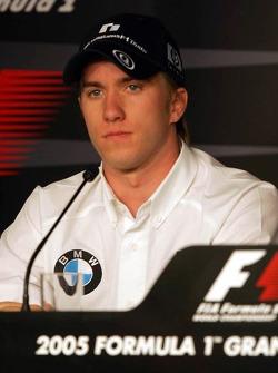FIA Thursday press conference: Nick Heidfeld