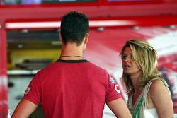 Michael Schumacher with wife Corina