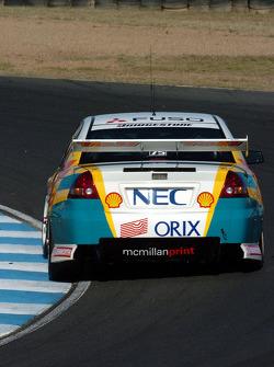 Anthony Tratt during qualifying