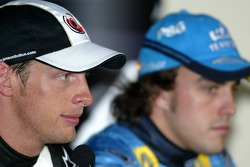 Press conference: pole winner Jenson Button