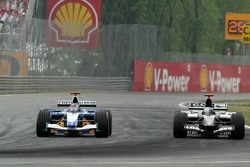 Jacques Villeneuve and Patrick Friesacher