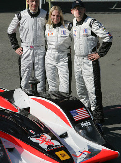 #32 Intersport Racing Lola AER: Gregor Fisken, Liz Halliday, Sam Hancock