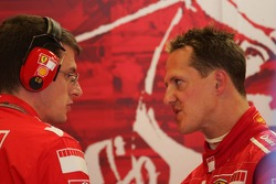 Chris Dyer and Michael Schumacher