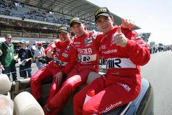 Christian Pescatori, Fabrizio Gollin and Miguel Ramos