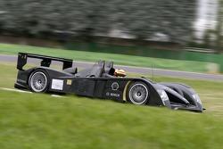 Frank Biela tests the new Audi R10