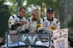 Sam Hancock, Liz Halliday and Gregor Fisken