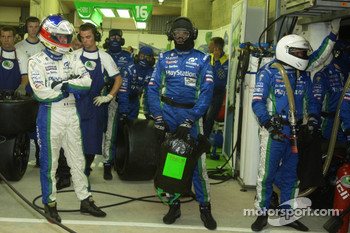 Emmanuel Collard ready for a pitstop