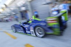 Pitstop for #18 Rollcentre Racing Dallara Judd: Martin Short, Joao Barbosa, Vanina Ickx
