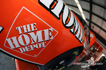 Detail of the Home Depot Chevy