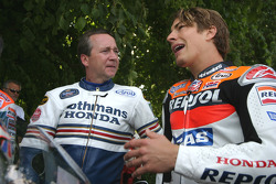 Freddie Spencer and Nicky Hayden
