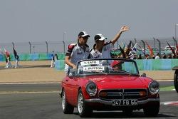 Drivers presentation: Jenson Button and Takuma Sato