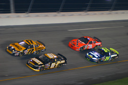 Matt Kenseth, Joe Nemechek, Jeff Burton and Jeff Gordon