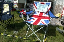 Chair for a patriotic fan