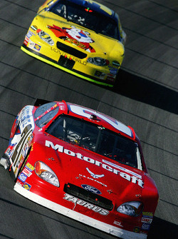 Ricky Rudd and Kyle Busch