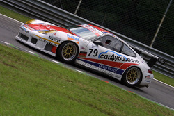 #79 JP Racing Porsche 996 GT3 RS: Jens Petersen, Jan-Dirk Lueders, Oliver Mathai