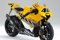 Studio shoot of the Yamaha YZR-M1 for the USGP