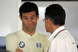 Mark Webber and Dr Mario Theissen