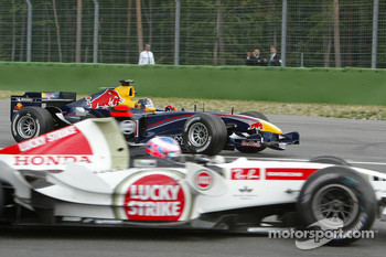 Jenson Button and Christian Klien