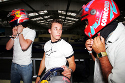 Red Bull Petit Prix in Manheim: Vitantonio Liuzzi and Christian Klien