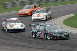 #23 Horizon Motorsports LLC Pontiac GTO: Kris Szekeres, Charles Espenlaub, #71 SAMAX Porsche GT3 Cup: Mark Greenberg, David Empringham