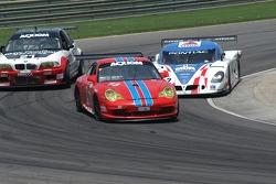 #73 Tafel Racing Porsche GT3 Cup: Jim Tafel Jr., Andrew Davis, #2 CITGO - Howard - Boss Motorsports Pontiac Crawford: Andy Wallace, Milka Duno