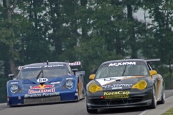 #14 Autometrics Motorsports Porsche GT3 Cup: Cory Friedman, Leh Keen, #58 Red Bull/ Brumos Racing Porsche Fabcar: David Donohue, Darren Law