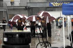 A rainy Gasoline Alley