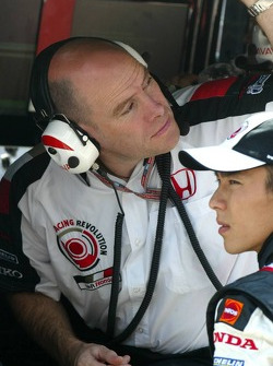 Jock Clear and Takuma Sato