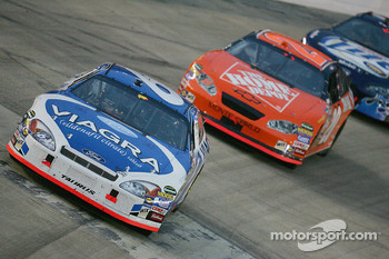 Mark Martin and Tony Stewart