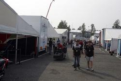 GP2 paddock