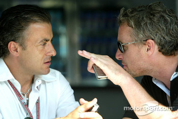 Jean Alesi and Eddie Irvine