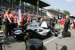 McLaren team members at work