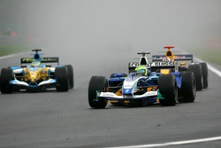 Felipe Massa leads Giancarlo Fisichella