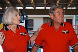 Susan Unser and Al Unser, Sr.