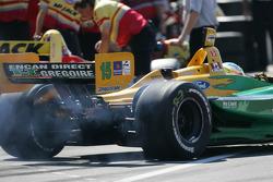 Alex Tagliani heads to track